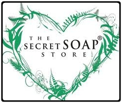 the secret soap store logo