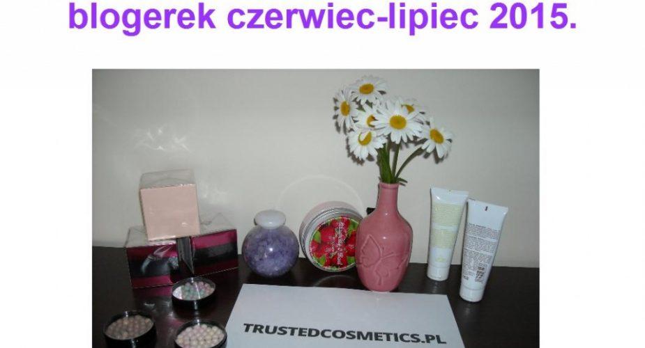 Wyniki rozdania kosmetycznego lipiec 2015