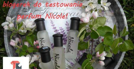 Poszukujemy nowych blogerek do testowania damskich i męskich perfum Nicole