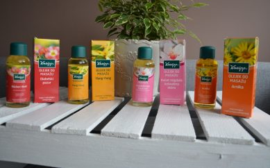 Dobroczynne pielęgnacyjne olejki do masażu Kneipp®