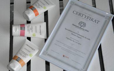 Specjalistyczne balsamy do ciała Dermo Expert marki Organique — Diamenty Beauty 2016!