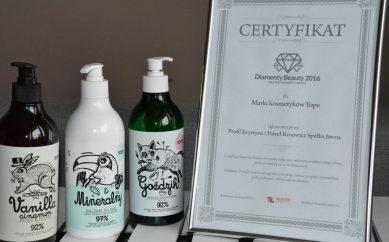 YOPE — kompleksowa ochrona wrażliwych dłoni — Diamenty Beauty 2016!