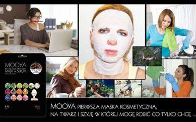 Dotleniająca maseczka L' biotica czy nowe maski marki Mooya?