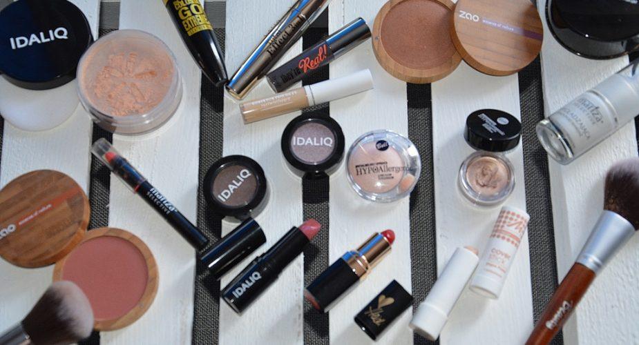 Opróżniamy kosmetyczki – kosmetyki do makijażu