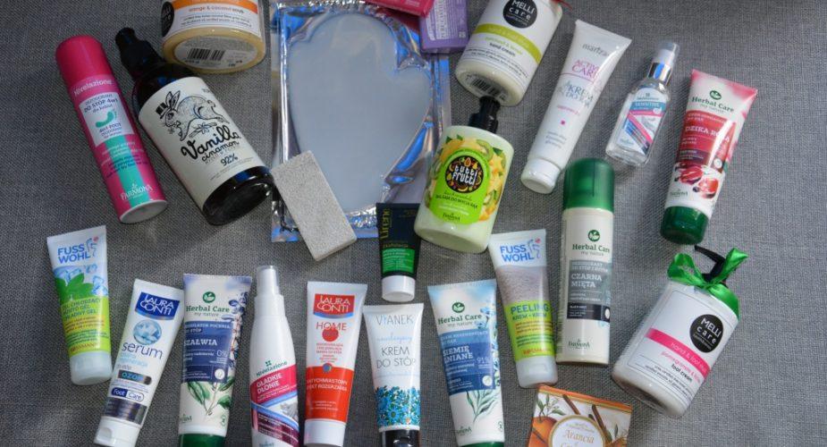 Opróżniamy kosmetyczki — pielęgnacja stóp i dłoni