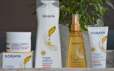 Test nowej linii kosmetyków – poznaj Magię Olejków w kosmetykach Soraya.