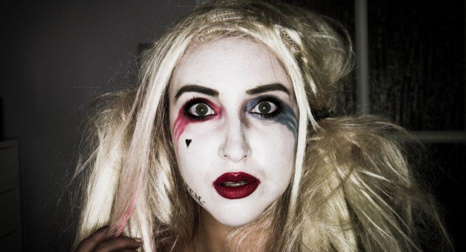 Makijaż Na Halloween Bądź Jak Harley Quinn Trusted Cosmetics