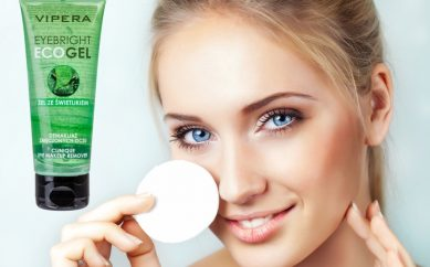 Żel ze Świetlikiem — kojący demakijaż i sprzymierzeniec oczu od Vipera Cosmetics