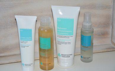 Wegański Rytuał SPA dla włosów kosmetykami Biofficina Toscania