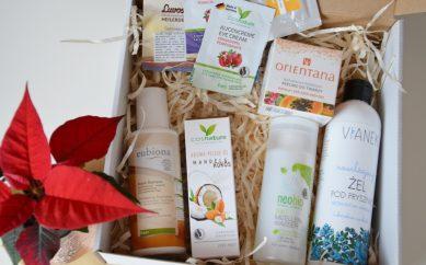 Recenzja pierwszego Naturbox-a — pudełka kosmetycznego wypełnionego naturą!