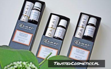 Recenzja naturalnych luksusowych olejków eterycznych: ylang-ylang, lawenda i mandarynka marki Damai