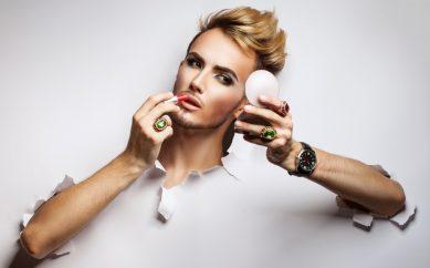 Męski makijaż – hot or not?