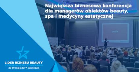 LIDER BIZNESU BEAUTY – 5 edycja konferencji BEAUTY INSPIRATION