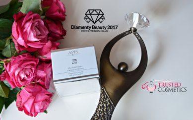 Dotleniający mus z aktywnym tlenem firmy Apis nagrodzony statuetką Diamenty Beauty 2017