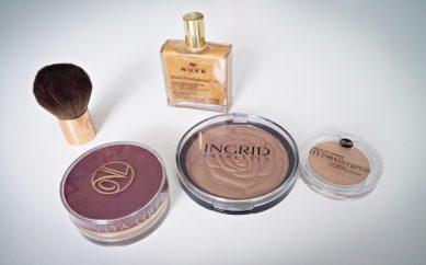 Bronzery – przegląd produktów z różnych półek cenowych