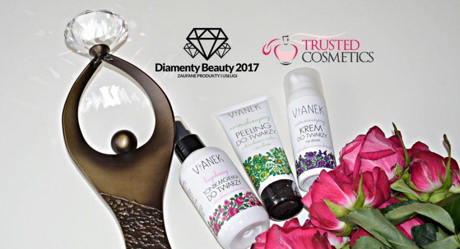 Marka kosmetyków Vianek nagrodzona Diamentem Beauty 2017