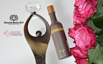 "Szampon z czystą kofeiną ""Tree in the Bottle"" marki O'right nagrodzony Diamentem Beauty 2017"