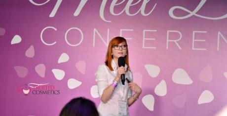 Co robiła redaktor kosmetyczna na Meet Beauty Conference 2017?