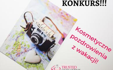 Kosmetyczne pozdrowienia z wakacji — Konkurs