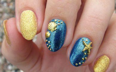 Zdobienie paznokci ćwiekami