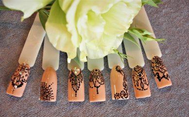 Rapido art – zdobienia paznokci za pomocą rapidografu