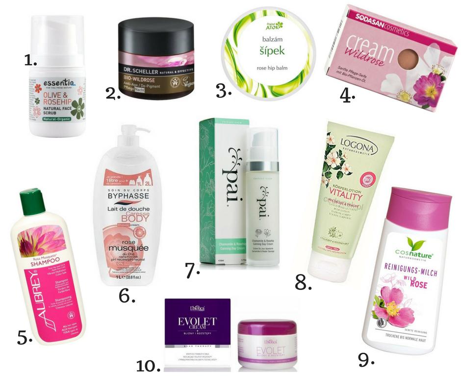 Dzika róża właściwości kosmetyczne - Trusted Cosmetics