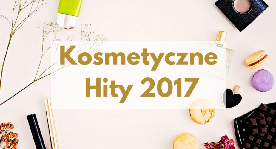 Kosmetyczne hity 2017 roku — konkurs!