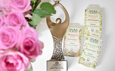Balsamy do ust Botanical VEGAN Laura Conti nagrodzone Diamentem Beauty