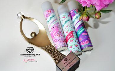 Linia suchych szamponów Batiste nagrodzona Diamentem Beauty 2018