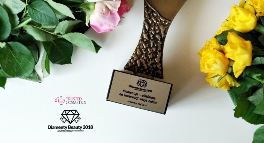 Platforma Moment.pl nagrodzona Diamentem Beauty 2018