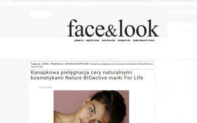 Artykuł prasowy na Face&Look