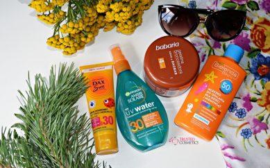 Pokaż wakacyjną kosmetyczkę — kosmetyki zapewniające ochronę przed słońcem