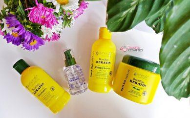 Pielęgnacja włosów kosmetykami Brazilian Keratin marki G-Synergie