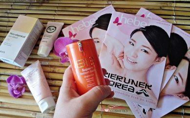 Koreańskie marki kosmetyków z Drogerii Hebe
