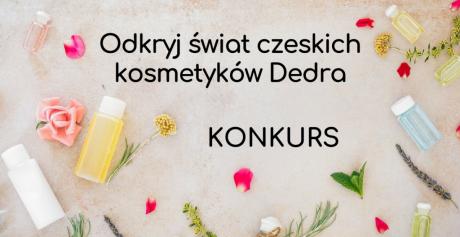 Odkryj świat czeskich kosmetyków Dedra — konkurs i rabat na kosmetyki!