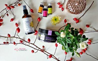 Jesienny zabieg domowego spa z kosmetykami Nature Queen