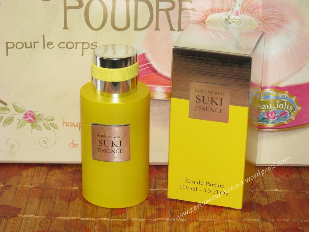 Perfumy Suki Essence marki Weil