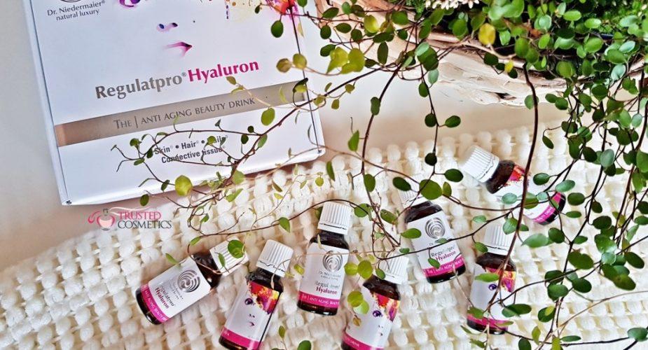 Czy Beauty Drink jest gwarancją piękna i młodości? Recenzja eliksiru piękna Regulatpro Hyaluron Dr. Niedermaier