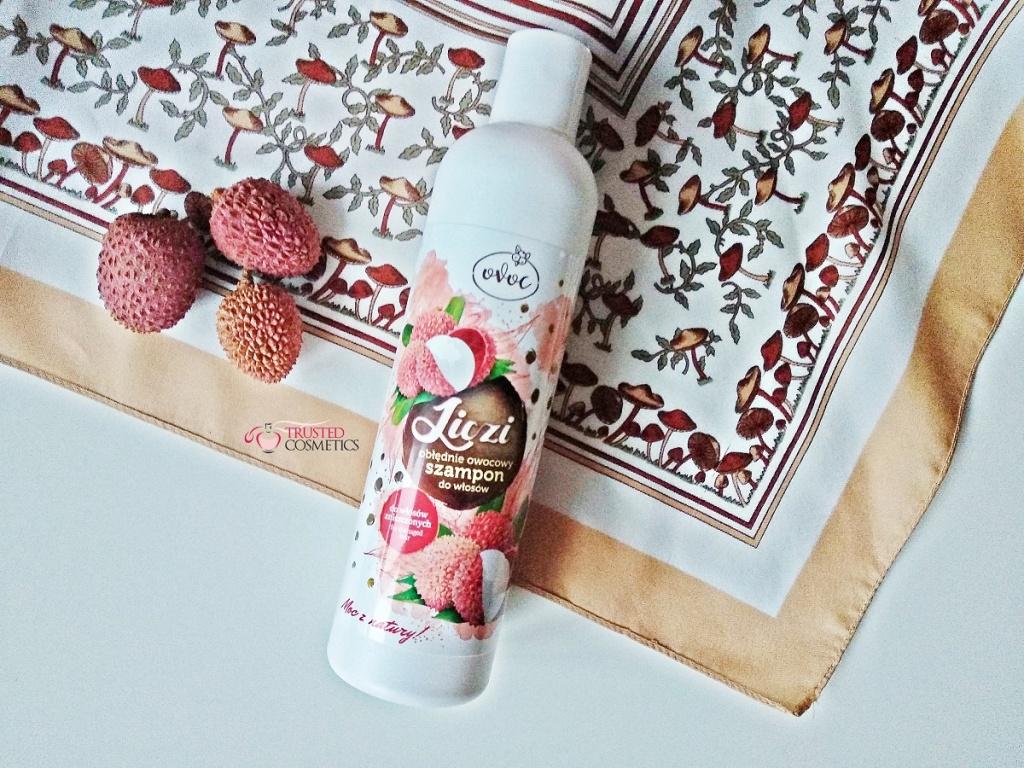 Obłędnie owocowy szampon Liczi Ovoc