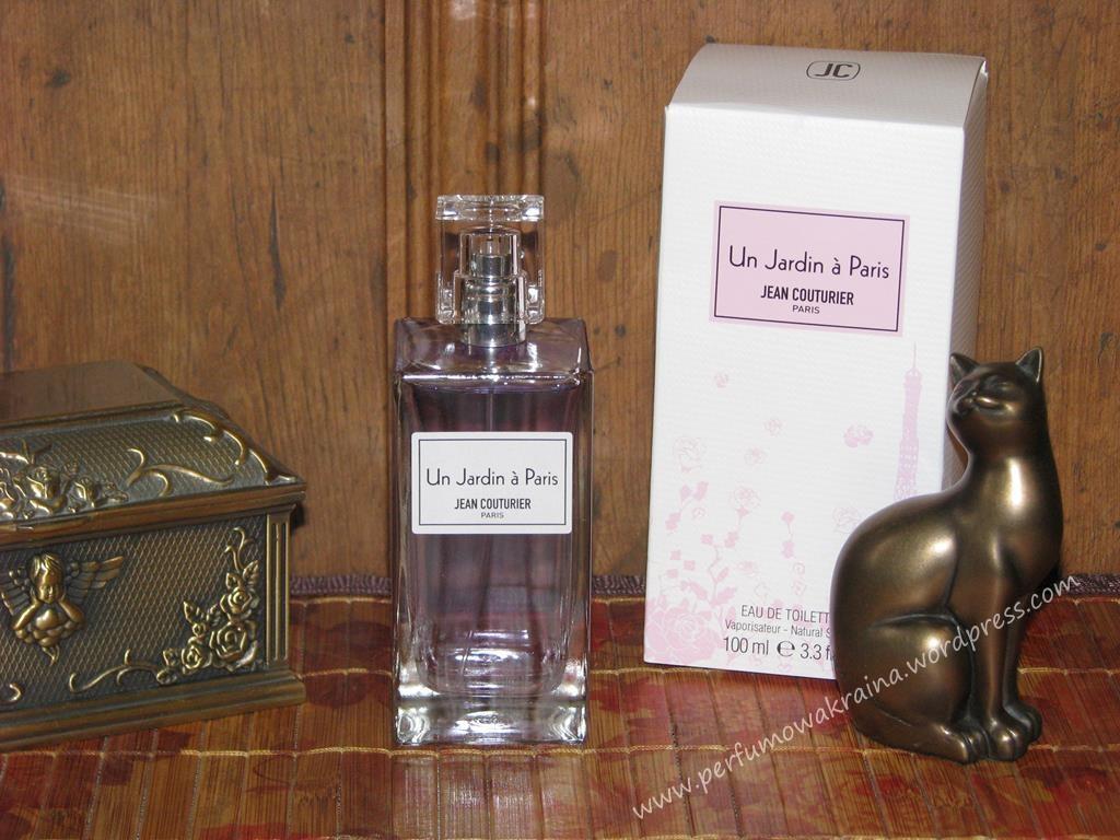 Perfumy Un Jardin a Paris marki Jean Couturier