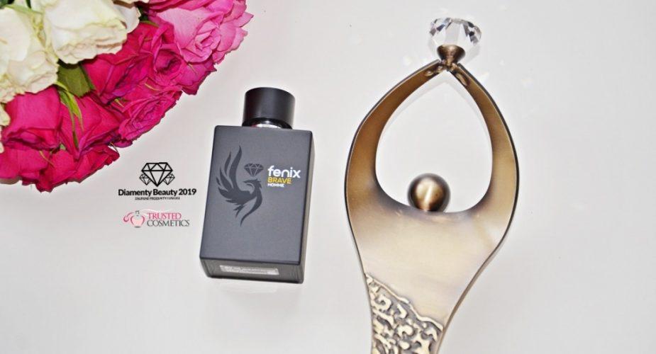 Woda perfumowana Brave Fenix Jewellery&Cosmetics nagrodzona Diamentem Beauty 2019