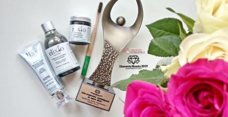 Linia preparatów wybielających do zębów Elixio nagrodzona Diamentem Beauty 2019