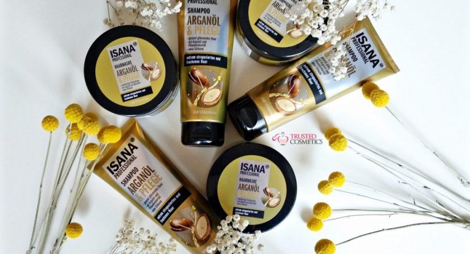 Kosmetyki do włosów z olejem arganowym Isana Professional. III testy w Klubie Testerek Kosmetycznych