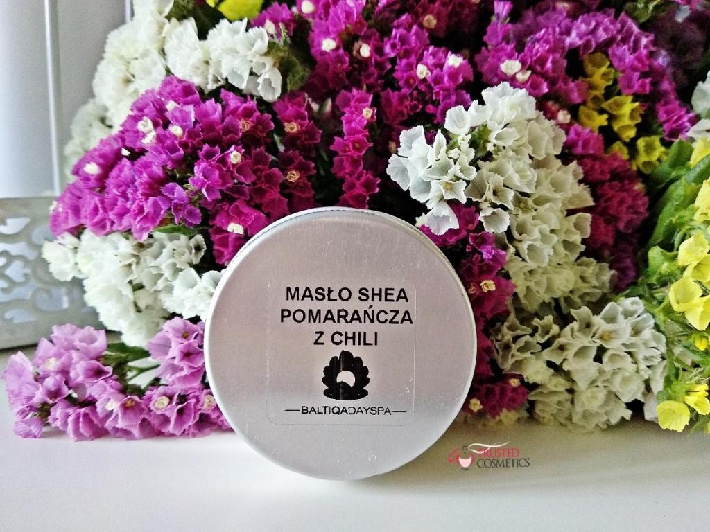 Masło Shea Pomarańcza z Chilli marki Baltiqa Day Spa