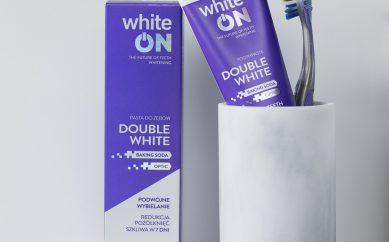 Moc uśmiechu w paście do zębów whiteOn Double White