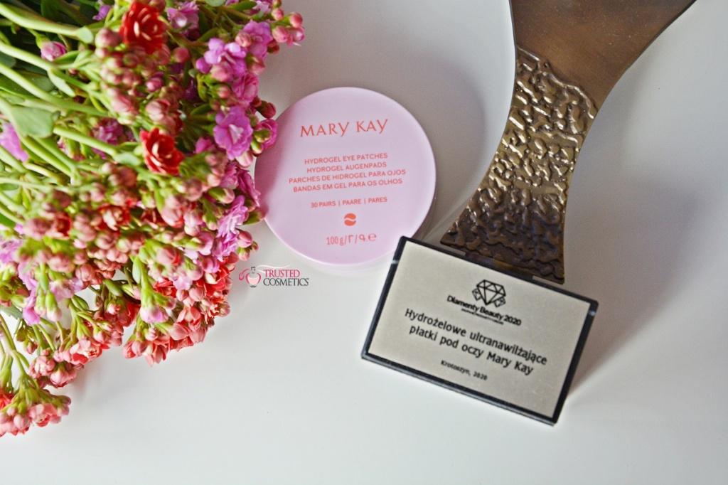 Hydrożelowe ultranawilżające płatki pod oczy Mary Kay nagrodzone Diamentem Beauty 2020