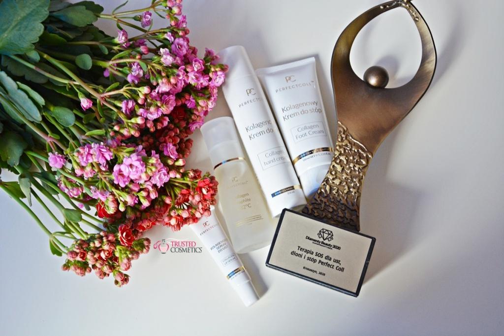 Terapia SOS dla ust, dłoni i stóp Perfect Coll nagrodzona Diamentem Beauty 2020