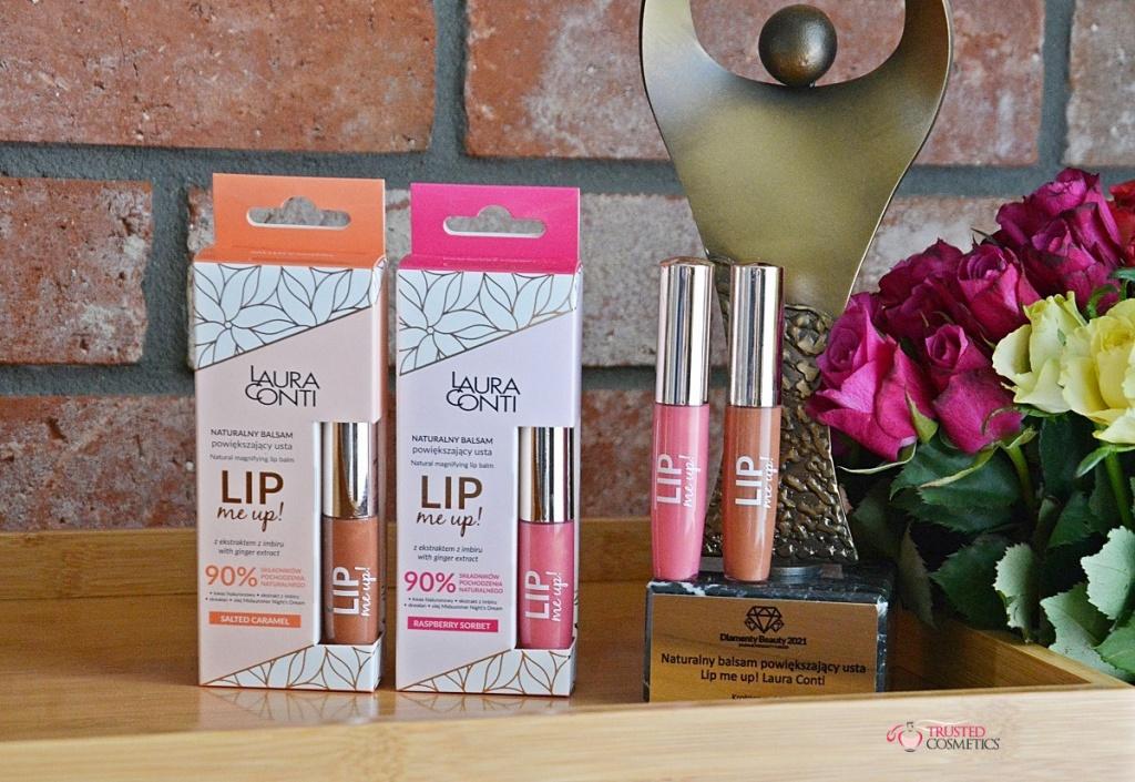 Naturalnie powiększający usta balsam Lip Me Up! Laura Conti nagrodzona Diamentem Beauty 2021 – nasza opinia