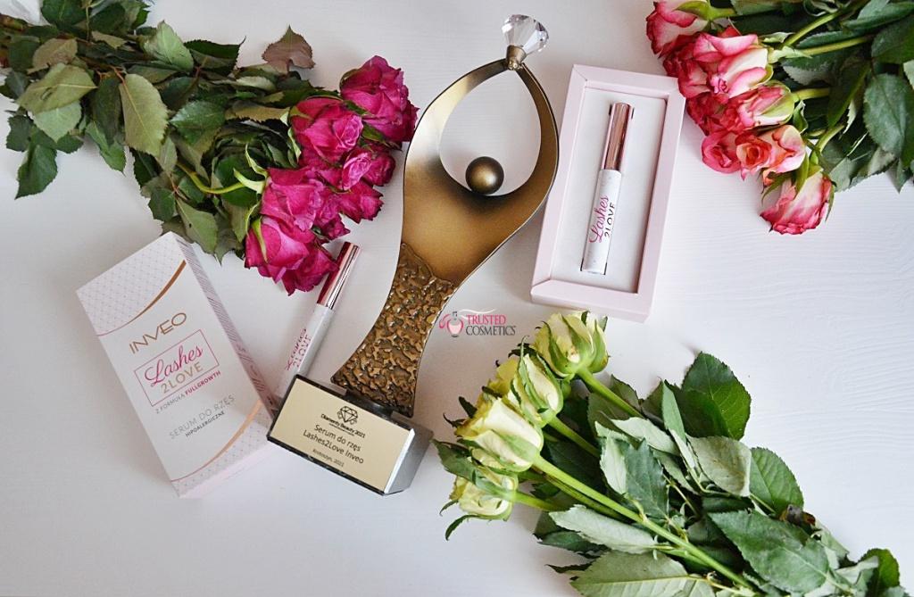 Serum do rzęs Lashes2Love Inveo nagrodzone Diamentem Beauty 2021