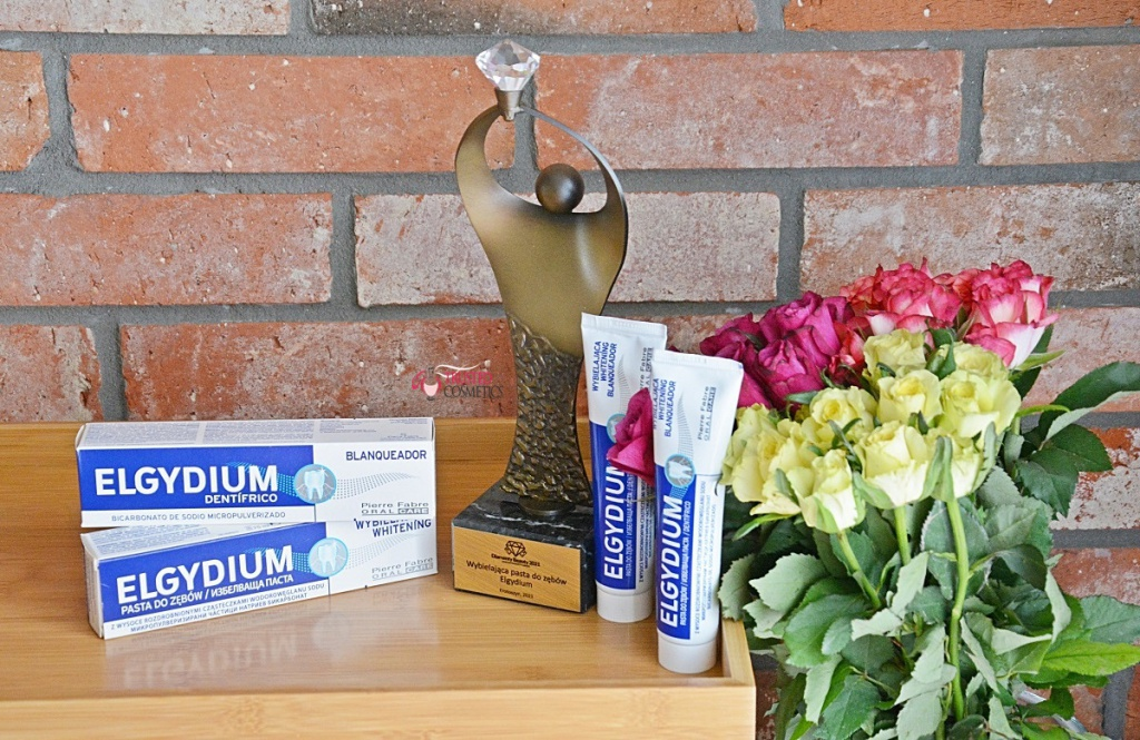 Wybielająca pasta do zębów Elgydium nagrodzona Diamentem Beauty 2021